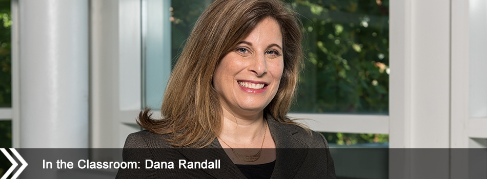 In the Classroom: Dana Randall